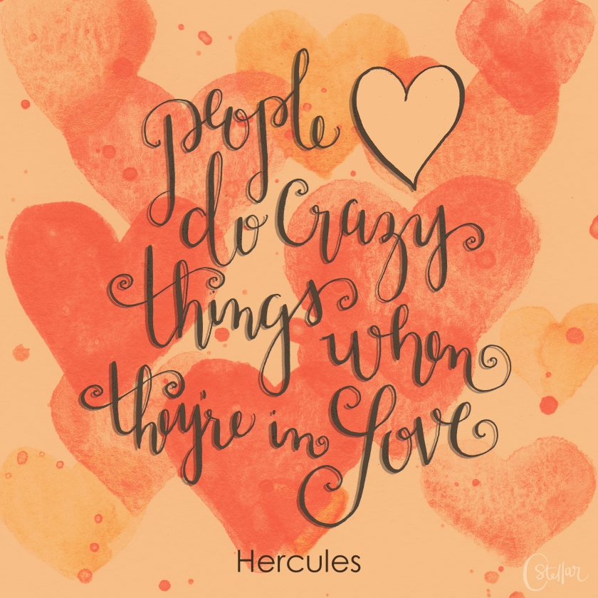 Hercules Quote | Chrystal Doodles