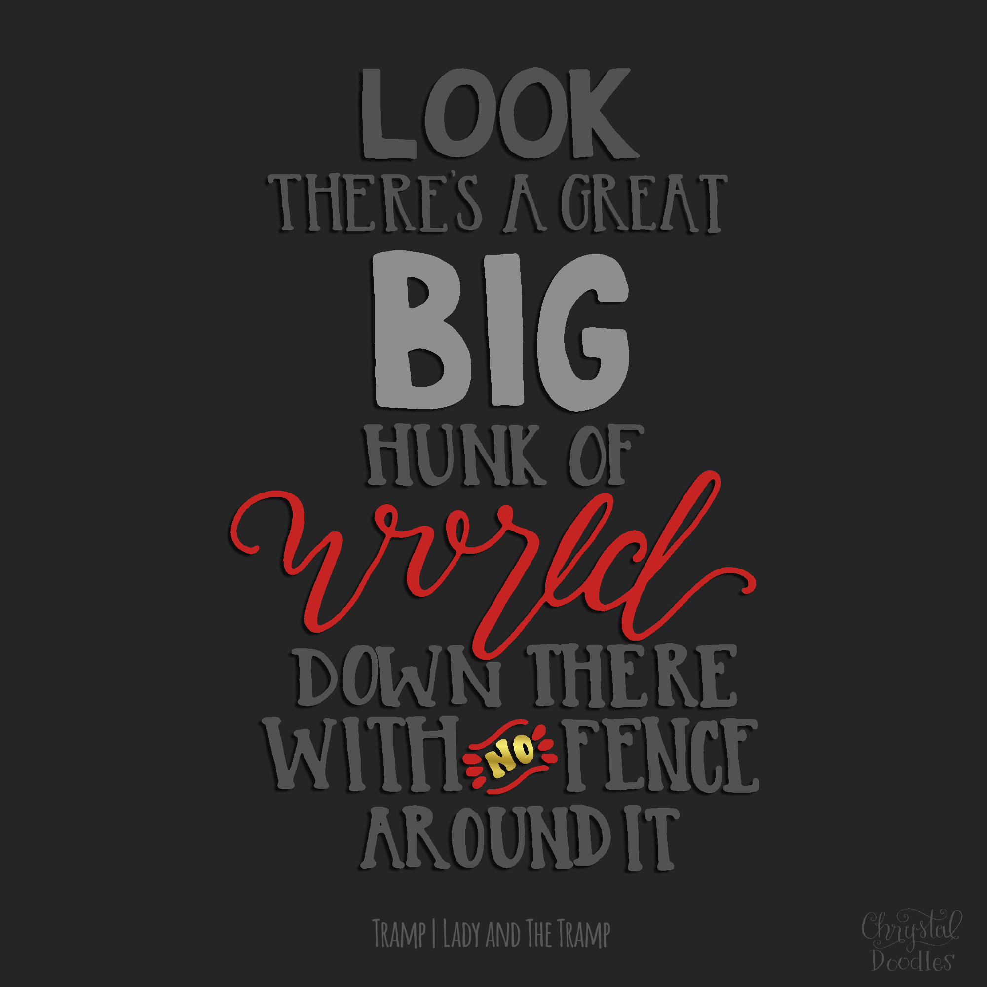 Fence Quotes 100 Days Of Disney Quotes  Weekly Round Up 4.19.15  4.25.15