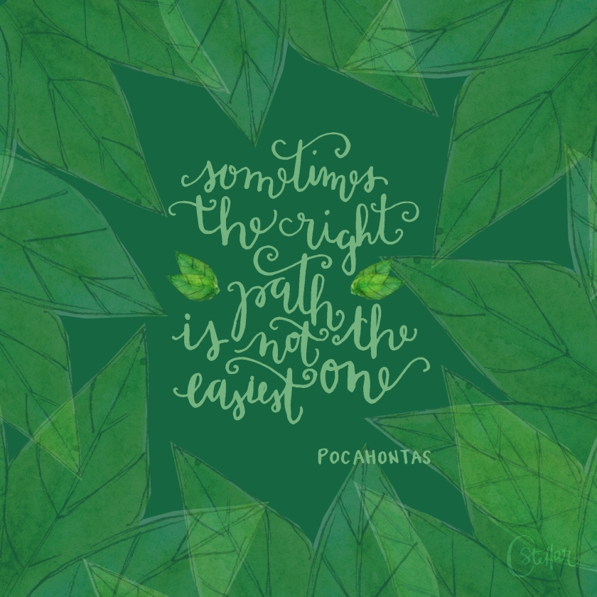 Pocahontas Quote | Chrystal Doodles