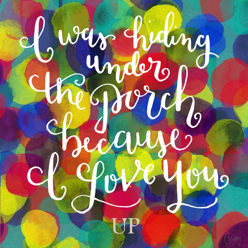 Up Quote | Chrystal Doodles