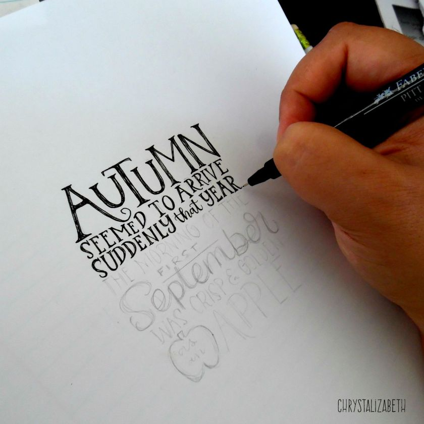 Harry Potter Autumn Quote | chrystalizabeth
