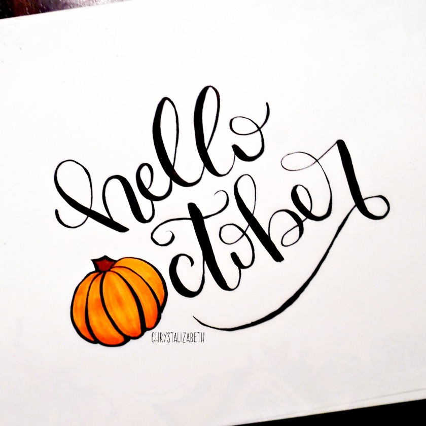 Hello October | chrystalizabeth